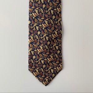 Dior Accessories - Christian Dior Monsieur Blue Pattern Mens Tie